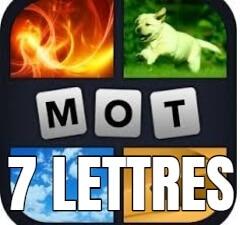 4 images 1 mot 7 lettres