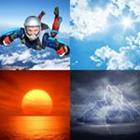 4 images 1 mot 4 lettres niveau ciel 1