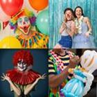4 images 1 mot 5 lettres niveau clown 1