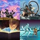 4 images 1 mot 5 lettres niveau mythe