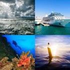 4 images 1 mot 5 lettres niveau ocean 1