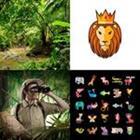 4 images 1 mot 6 lettres niveau jungle 1