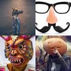 4 images 1 mot 6 lettres niveau masque 2